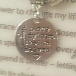 A piece of my heart Lives in Heaven Bracelet.